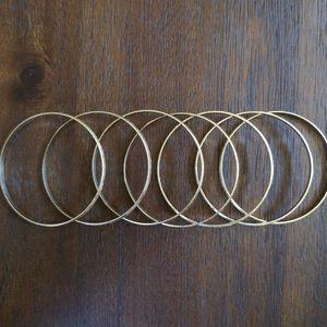 Jewelry - 7 Bangle bracelets (Mexican Semanario)